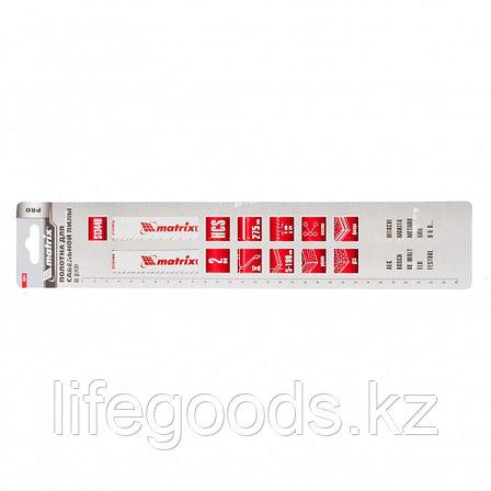 Полотна по дереву для сабельной пилы S1344D 275/4,3 мм, HCS, 2 шт, Pro Matrix 782011, фото 2