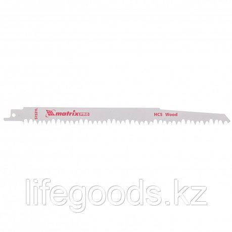 Полотна по дереву для сабельной пилы S1531L 215/5 мм, HCS, 2 шт, Pro Matrix, фото 2