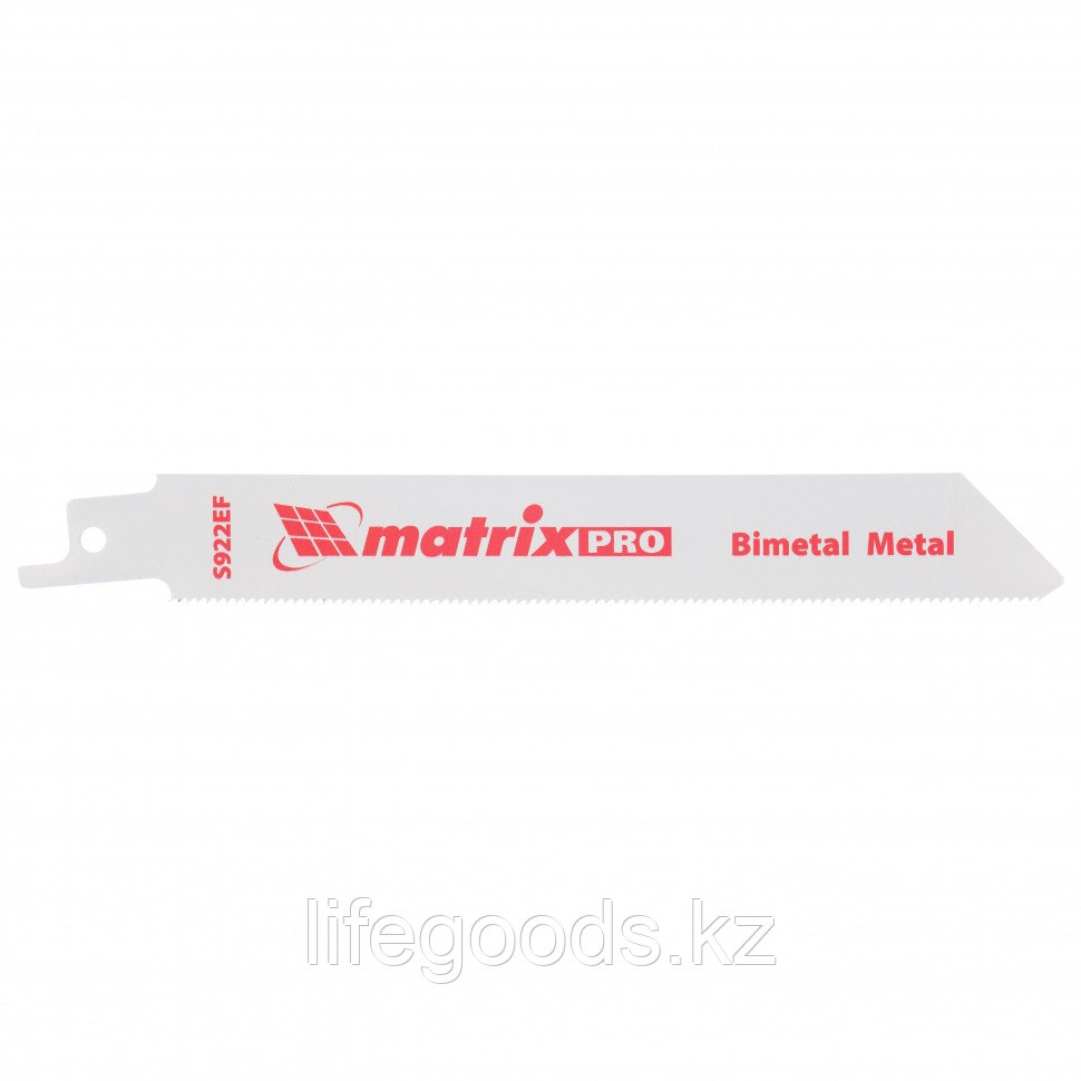 Полотна по металлу для сабельной пилы S922EF 125/1,4 мм, Bimetal, 2 шт, Pro Matrix 782009
