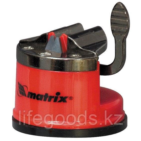 Приспособление для затачиван. ножей любого типа, метал. направляющая, крепление на присоске Matrix 79104
