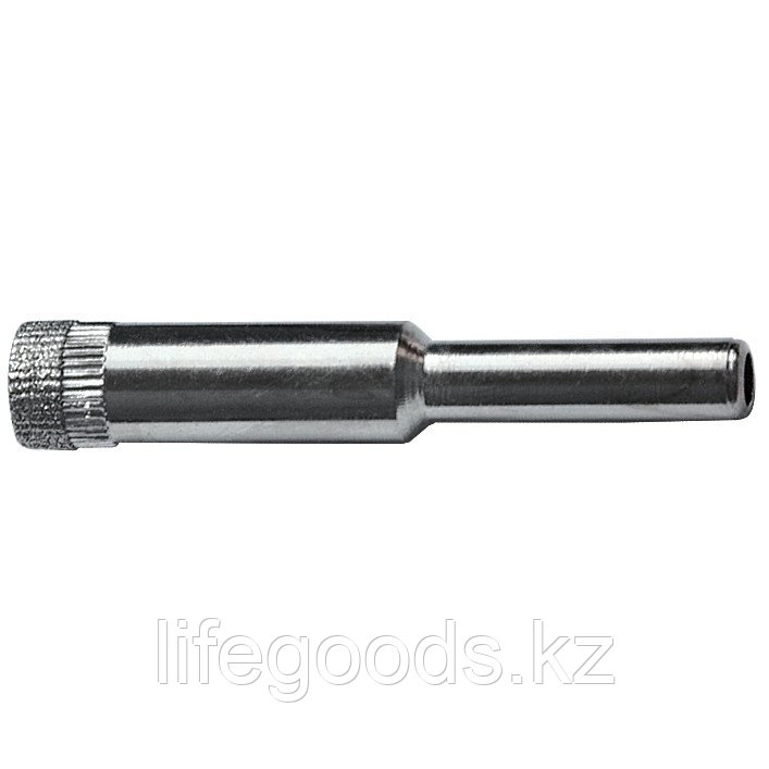 Сверло алмазное по керамической плитке и стеклу, 10 мм, цилиндрический хвостовик Sparta 728105