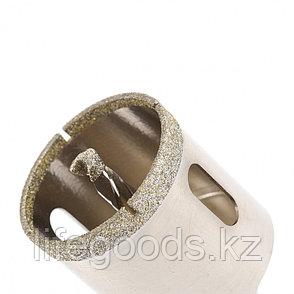 Сверло алмазное по керамограниту, 45 х 67 мм, трехгранный хвостовик Matrix 726453, фото 2