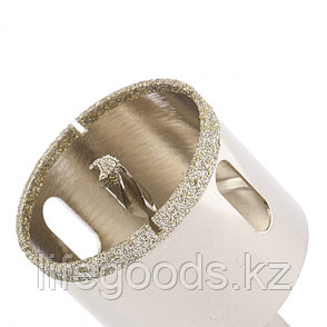 Сверло алмазное по керамограниту, 50 х 67 мм, трехгранный хвостовик Matrix 726503, фото 2