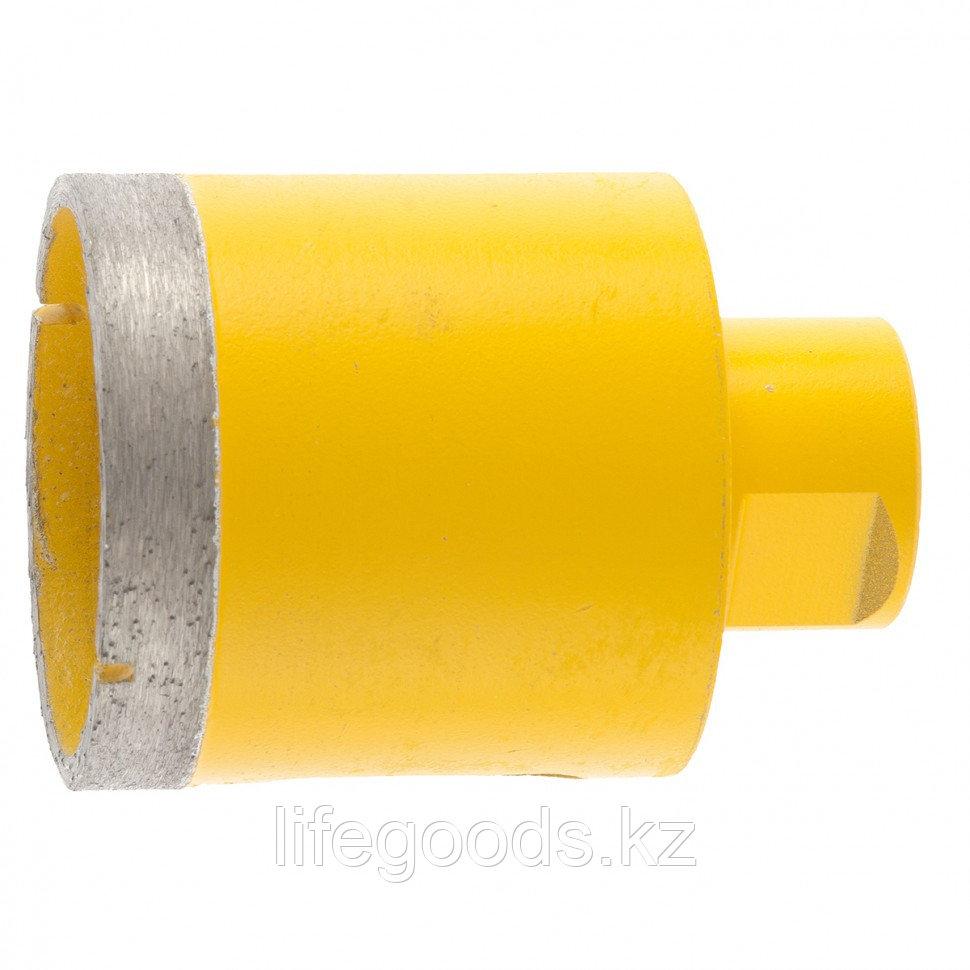 Сверло алмазное по керамограниту, 55 мм, мокрая резка, М14 Denzel 72690