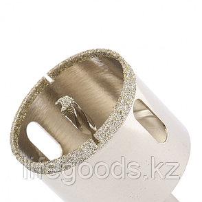 Сверло алмазное по керамограниту, 55 х 67 мм, трехгранный хвостовик Matrix 726553, фото 2
