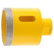 Сверло алмазное по керамограниту, 60 мм, мокрая резка, М14 Denzel 72691