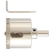 Сверло алмазное по керамограниту, 60 х 67 мм, трехгранный хвостовик Matrix 726603