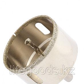 Сверло алмазное по керамограниту, 68 х 67 мм, трехгранный хвостовик Matrix 726683, фото 2