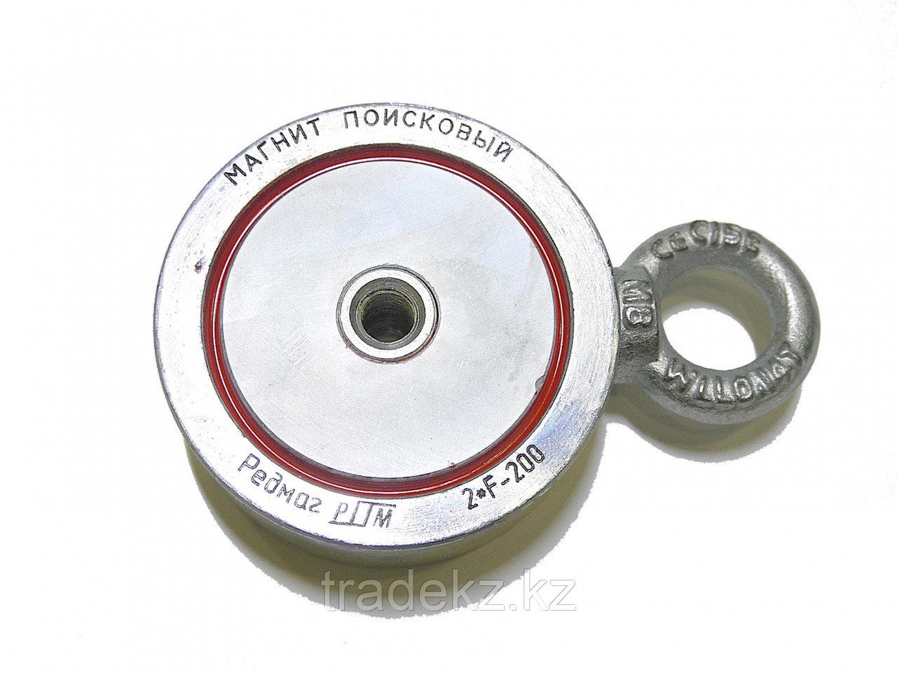 Магнит поисковый Редмаг F200х2 двухсторонний, усилие отрыва 200 кг
