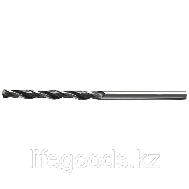 Сверло по металлу, 3,8 мм, быстрорежущая сталь, 10 шт, цилиндрический хвостовик Сибртех