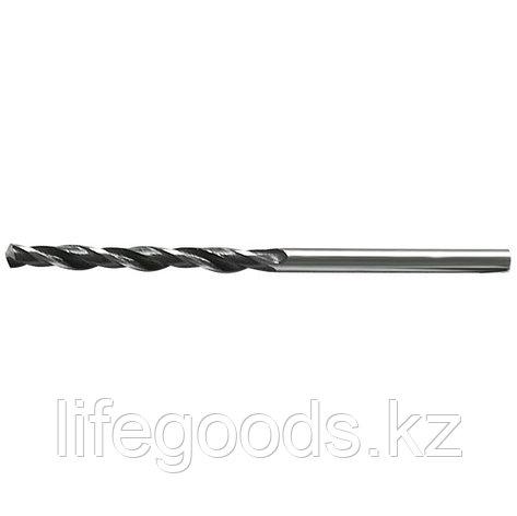 Сверло по металлу, 3,8 мм, быстрорежущая сталь, 10 шт, цилиндрический хвостовик Сибртех, фото 2