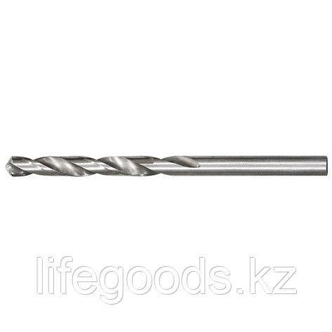 Сверло по металлу, 3,8 мм, полированное, HSS, 10 шт, цилиндрический хвостовик Matrix, фото 2