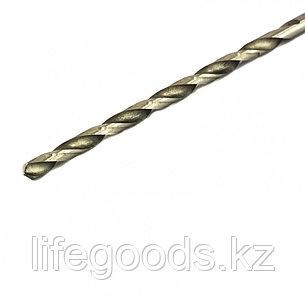 Сверло по металлу, 4 х 119 мм, полированное, удл, HSS, 10 шт, цилиндрический хвостовик Matrix, фото 2