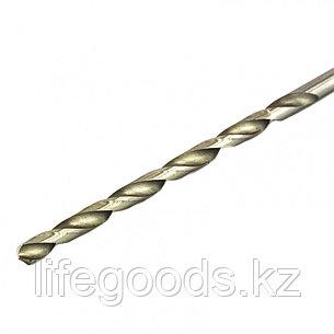Сверло по металлу, 4,5 х 126 мм, полированное, удл, HSS, 10 шт, цилиндрический хвостовик Matrix, фото 2
