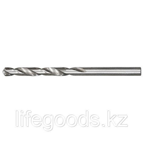 Сверло по металлу, 4,9 мм, полированное, HSS, 10 шт, цилиндрический хвостовик Matrix, фото 2
