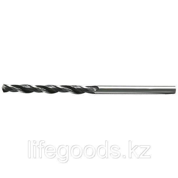 Сверло по металлу, 5 мм, быстрорежущая сталь, 10 шт, цилиндрический хвостовик Сибртех