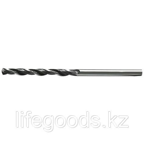 Сверло по металлу, 5 мм, быстрорежущая сталь, 10 шт, цилиндрический хвостовик Сибртех, фото 2