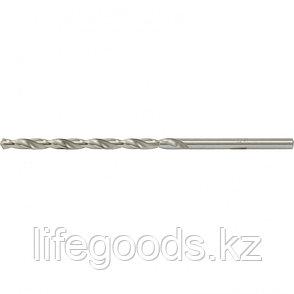 Сверло по металлу, 5,5 х 139 мм, полированное, удл, HSS, 10 шт, цилиндрический хвостовик Matrix, фото 2