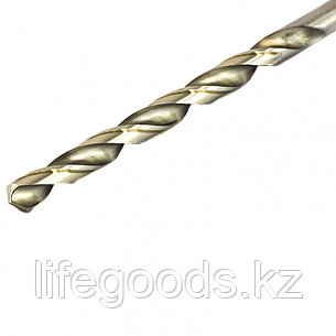 Сверло по металлу, 8 х 165 мм, полированное, удл, HSS, 5 шт, цилиндрический хвостовик Matrix 715080, фото 2