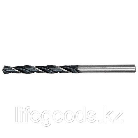 Сверло по металлу, 8,5 мм, быстрорежущая сталь, 5 шт, цилиндрический хвостовик Сибртех 722855, фото 2