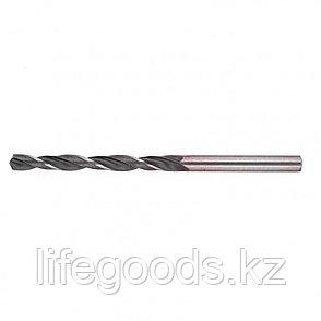 Сверло по металлу, 9,5 мм, быстрорежущая сталь, 5 шт, цилиндрический хвостовик Сибртех, фото 2