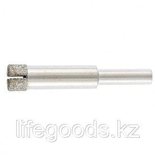 Сверло по стеклу и керамической плитке, 10 х 55 мм, цилиндрический хвостовик Сибртех 726107, фото 2