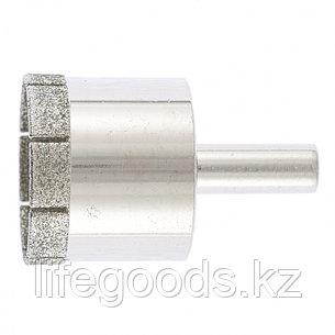 Сверло по стеклу и керамической плитке, 35 х 55 мм, цилиндрический хвостовик Сибртех, фото 2