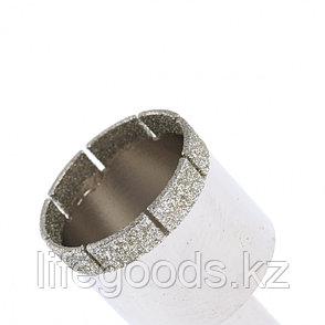 Сверло по стеклу и керамической плитке, 38 х 55 мм, цилиндрический хвостовик Сибртех, фото 2