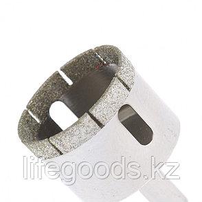 Сверло по стеклу и керамической плитке, 40 х 55 мм, цилиндрический хвостовик Сибртех, фото 2