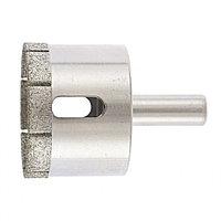 Сверло по стеклу и керамической плитке, 45 х 55 мм, цилиндрический хвостовик Сибртех 726457