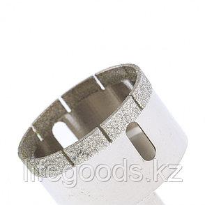 Сверло по стеклу и керамической плитке, 50 х 55 мм, цилиндрический хвостовик Сибртех 726507, фото 2
