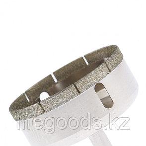 Сверло по стеклу и керамической плитке, 70 х 55 мм, цилиндрический хвостовик Сибртех 726707, фото 2