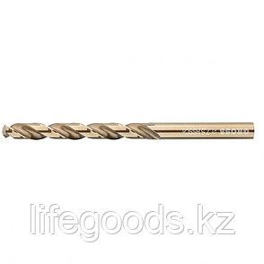 Сверло спиральное по металлу, 10 мм, HSS-Co Gross, фото 2