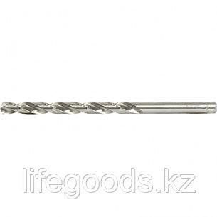 Сверло спиральное по металлу, 11 х 195 мм, Р6М5, удлиненное Барс 718110, фото 2
