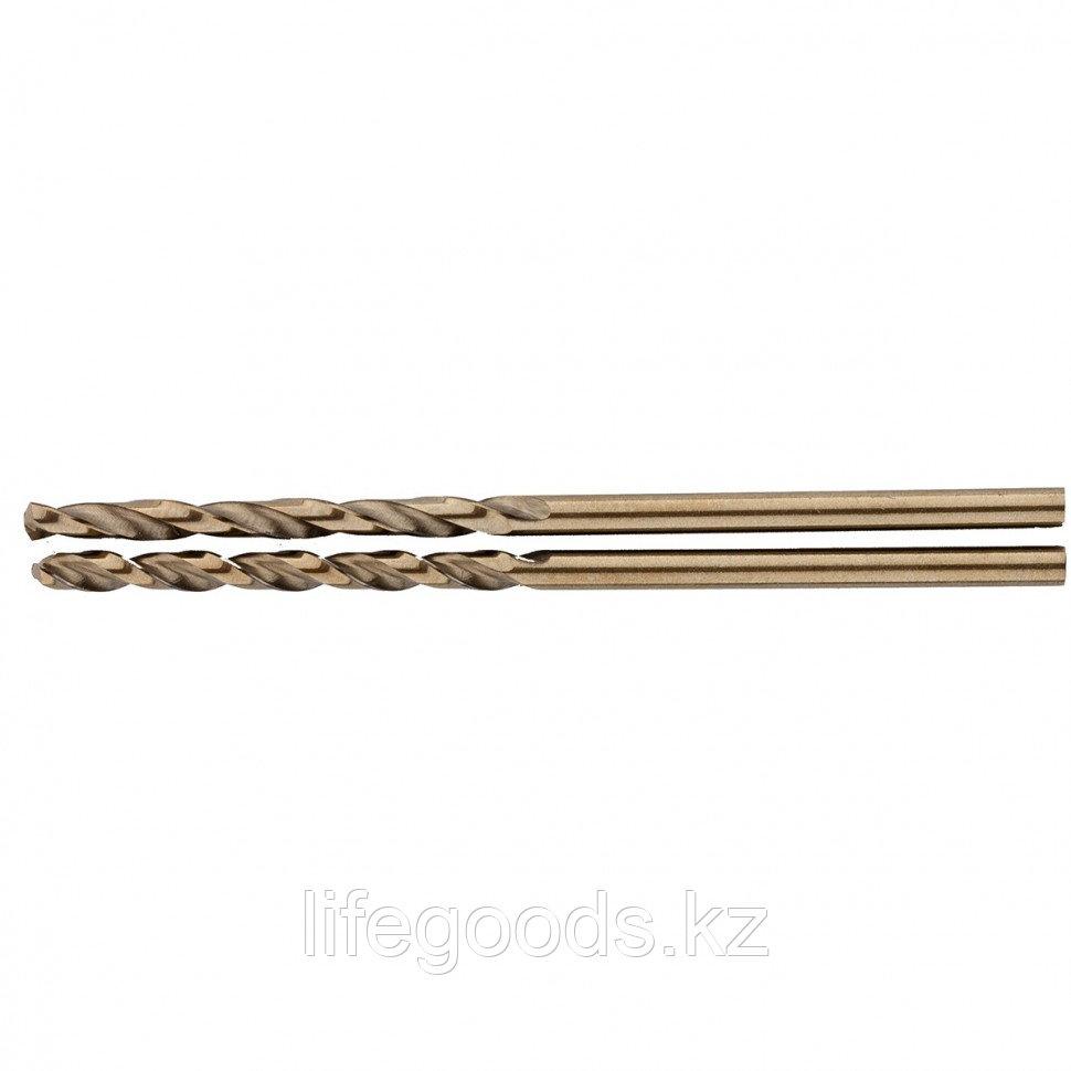 Сверло спиральное по металлу, 2 мм, HSS-Co, 2 шт Gross 72303