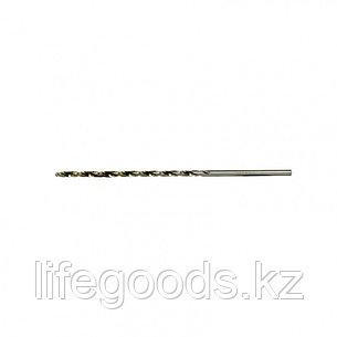 Сверло спиральное по металлу, 2,5 х 95 мм Р6М5, удлиненное, 2 шт Барс 718025, фото 2