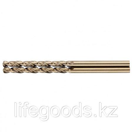 Сверло спиральное по металлу, 3 мм, HSS-Co, 2 шт Gross 72306, фото 2