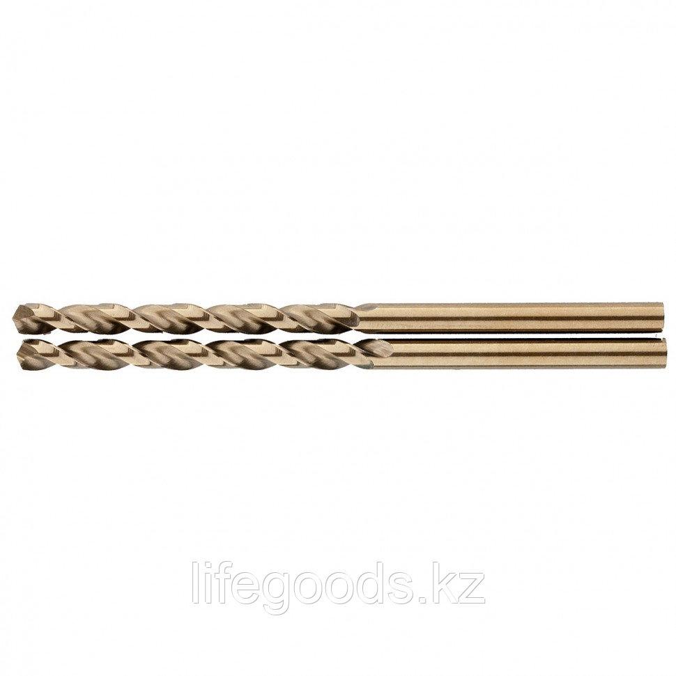 Сверло спиральное по металлу, 3,5 мм, HSS-Co, 2 шт Gross 72309