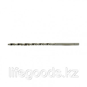 Сверло спиральное по металлу, 3,5 х 112 мм, Р6М5, удлиненное, 2 шт Барс 718035, фото 2