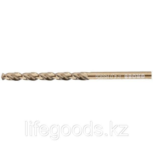 Сверло спиральное по металлу, 4 мм, HSS-Co Gross 72312