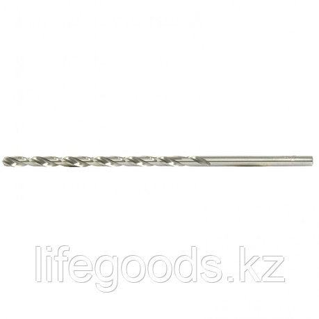 Сверло спиральное по металлу, 4,2 х 119 мм, Р6М5, удлиненное Барс 718042, фото 2