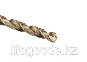 Сверло спиральное по металлу, 5 мм, HSS-Co Gross 72317, фото 3