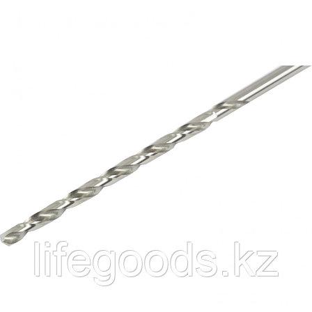 Сверло спиральное по металлу, 5,5 х 139 мм, Р6М5, удлиненное Барс 718055, фото 2