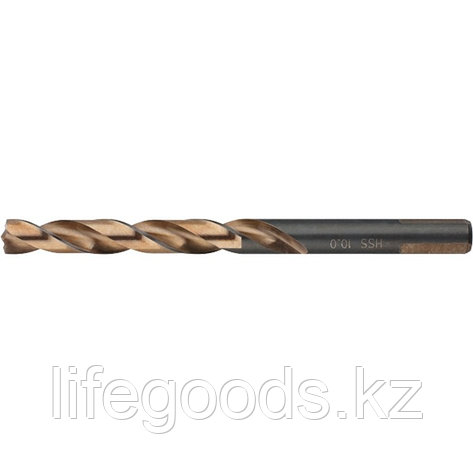 Сверло спиральное по металлу, 6 x 93 мм, Р9М3, многогранная заточка Барс 71870, фото 2