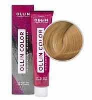 Перманентная крем краска для волос, 9,0 блондин ,60 мл, Ollin Color