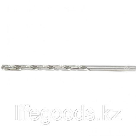 Сверло спиральное по металлу, 6,5 х 148 мм, Р6М5, удлиненное Барс, фото 2