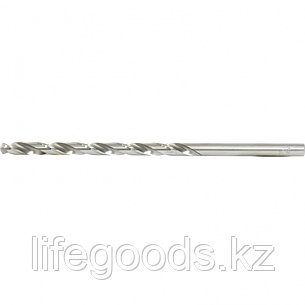 Сверло спиральное по металлу, 7 х 156 мм, Р6М5, удлиненное Барс 718070, фото 2