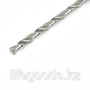 Сверло спиральное по металлу, 7 х 156 мм, Р6М5, удлиненное Барс, фото 2