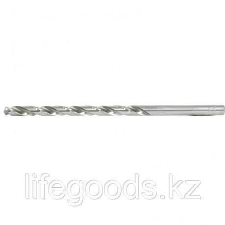 Сверло спиральное по металлу, 7,5 х 156 мм, Р6М5, удлиненное Барс, фото 2