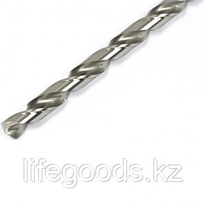 Сверло спиральное по металлу, 8,5 х 165 мм, Р6М5, удлиненное Барс 718085, фото 2